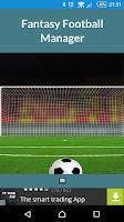 Screenshot of Fantasy Football Manager