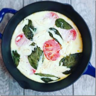 The Easiest Egg White Frittata You'll Ever Make