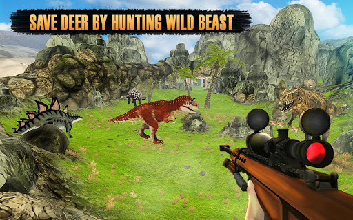 Dinosaurs Hunter Wild Jungle Animals Safari 3.3 screenshots 7