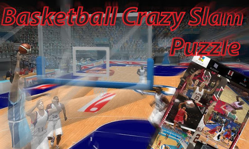 Basketball Crazy Slam: Puzzle