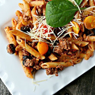 Penne Rigate Italian Pasta Recipes.