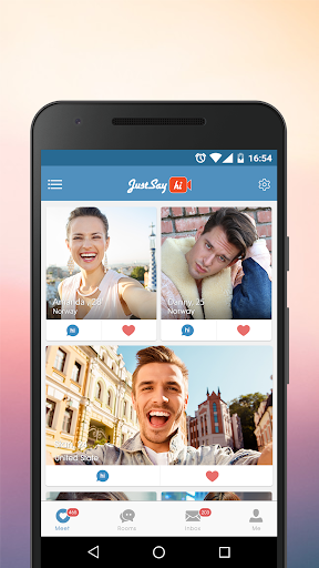 JustSayHi- Dating App. Chat & Meet Singles Nearby screenshot