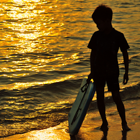 Young Gun by Aris Setiarso - Sports & Fitness Surfing