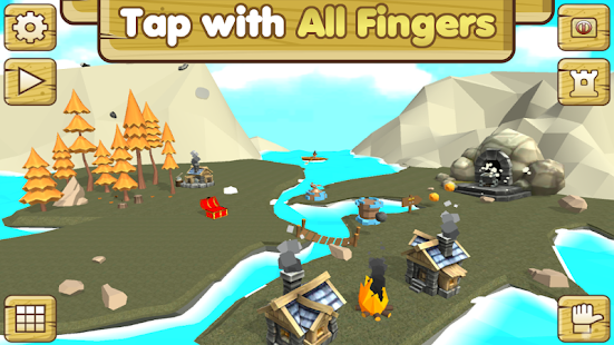 Tap 'n' Build 3D  -  Free Tap & Crafting Game - náhled