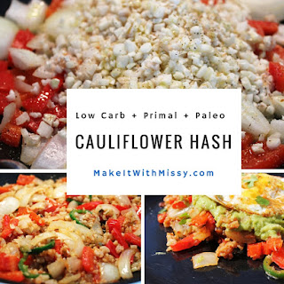 Spicy Cauliflower Hash – Gluten Free, Dairy Free, Low Carb
