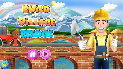 Construire un pont de village: construction routes  captures d'écran 1