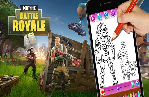 Fortnite Coloring Game Battle Royale Apk Download Apkpure Co