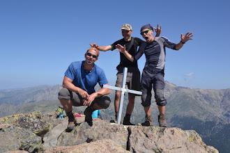 Photo: Myjava team na vrchole Monte d´Oro (2 389 m)