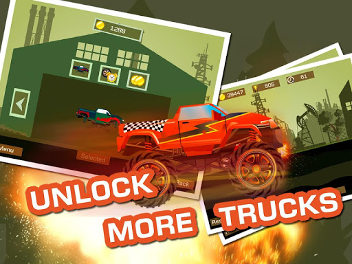 Mad Truck 2 -- physics monster truck hit zombie painmod.com screenshots 8