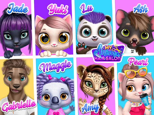My Animal Hair Salon - Style, Create & Experiment 5.0.8 screenshots 14
