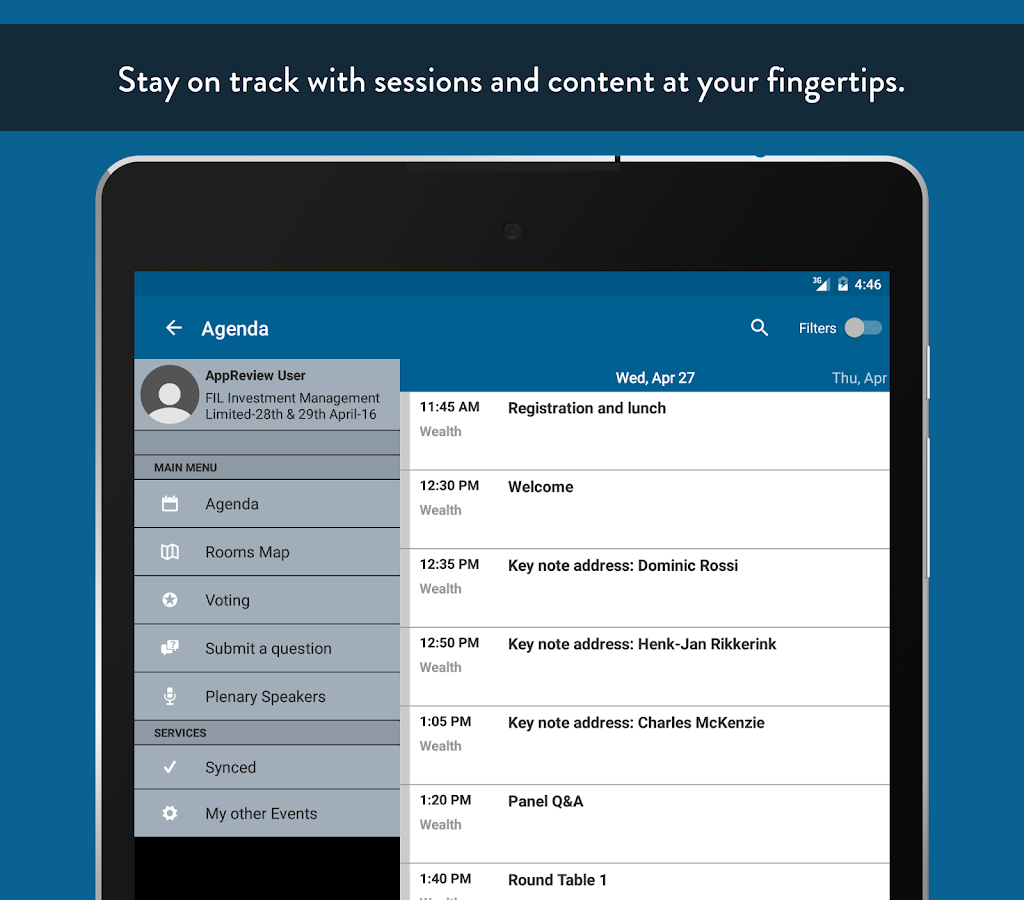 Fidelity Events - Android Apps on Google Play