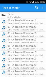 Music Folder Player Free - náhled