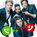 One Direction Calling Prank icon