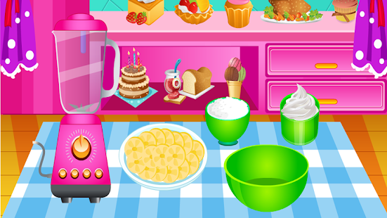 Vaření hry Ice Cream Banana - náhled