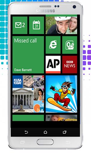 Lumia Theme: Launcher HD