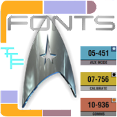 All Trek Fonts Pack
