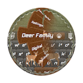 Deer Family GO Keyboard