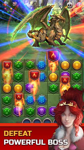 Dungeon Puzzles: Match 3 RPG  screenshots 3