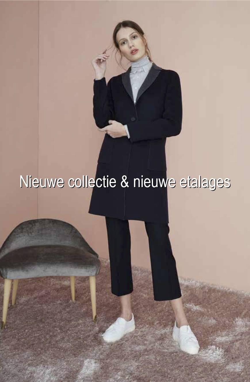 Nieuwe collectie & nieuwe etalages