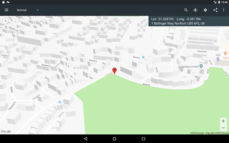 Map Coordinates Screenshot 19