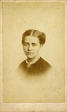 Photo: Wallace's wife Anne in 18?? The image is in carte de visite format. Photographer: T. Sims. First published by the A. R. Wallace Memorial Fund  & G. W. Beccaloni in 2010. Scanned with permission from the original owned by the Wallace family. Copyright of scan and owner of Publication Right: A. R. Wallace Memorial Fund & G. W. Beccaloni.