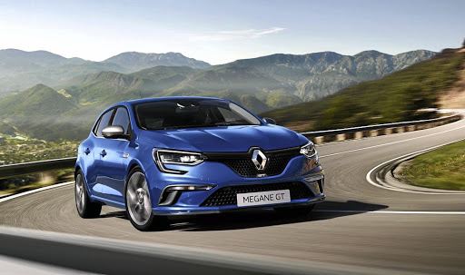 The Megane GT relishes a twisty road, preferring it to stop-start commuter traffic. Above left: The designers have paid plenty of attention to the interior, giving it a sporty and yet spacious feel.