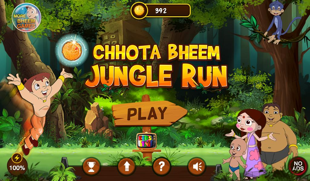 Chhota Bheem Jungle Run- screenshot