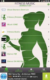 fitness music workout app android apps on google play. Black Bedroom Furniture Sets. Home Design Ideas