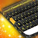Yellow Keyboard Theme icon