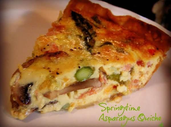 Springtime Asparagus Quiche Recipe
