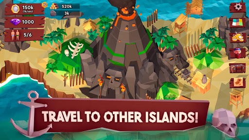 Code Triche Idle Tropic Empire - Survival Tycoon apk mod screenshots 4