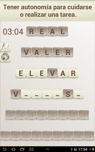 PALABRAS - Juego de Palabras en Espau00f1ol 1.17 screenshots 10