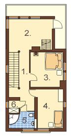 Okszów - Rzut II piętra