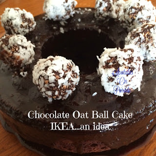 IKEA an Idea...Chocolate Oat Ball Cake