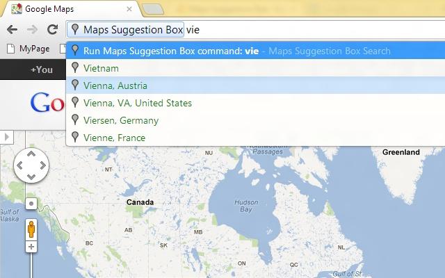 Maps Suggestion Box