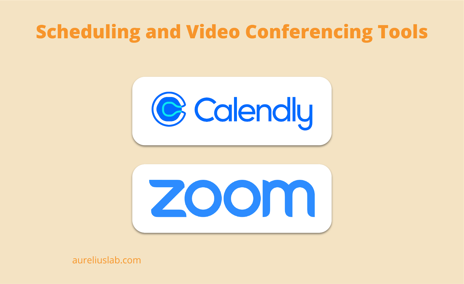 best scheduling and video conferencing tools for UX research