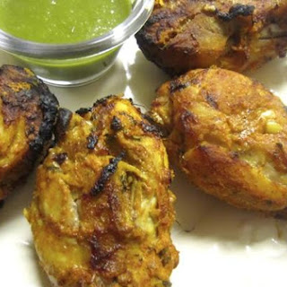 Indian Tandoori Chicken.