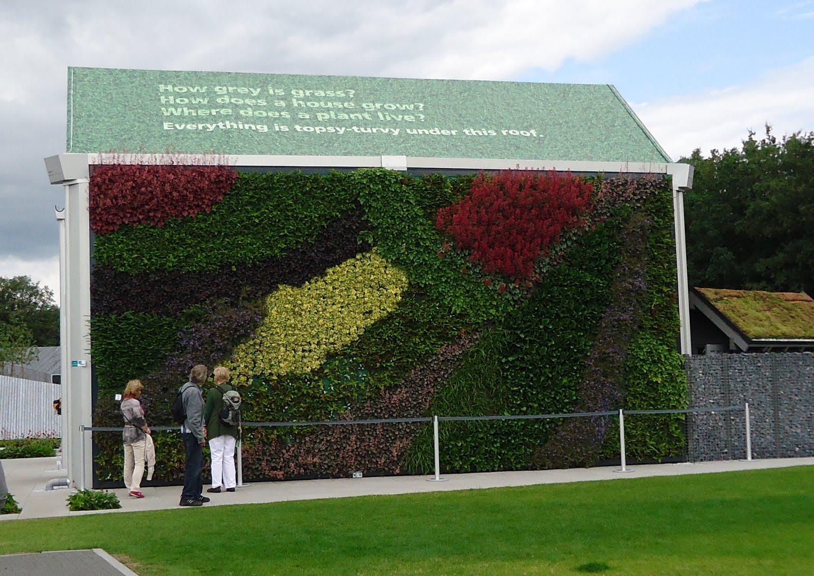Photo: groene muur