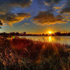 Hamliton Lake by Madhujith Venkatakrishna - Landscapes Sunsets & Sunrises (  )