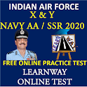 Air Force X&Y Exam 2020 - LearnWay Online Test icon