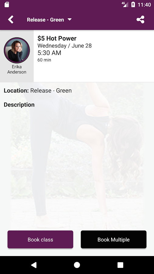 Release Yoga- screenshot