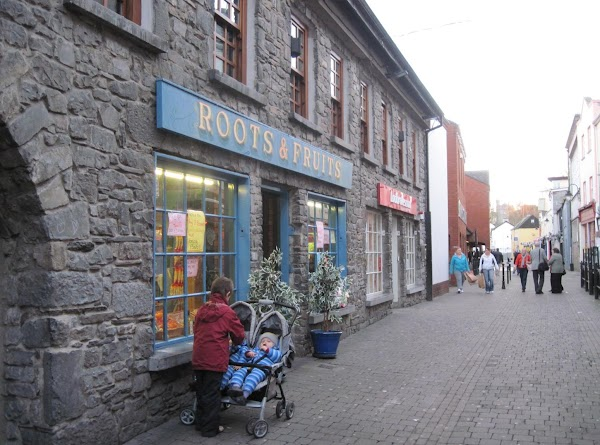 The produce market, Roots and Fruits, in Kilkenny.