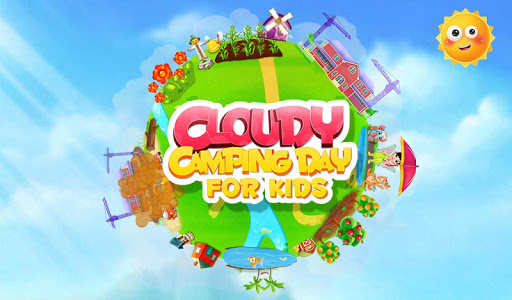 Cloudy Camping Day For Kids