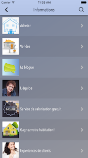 Gilberte Lefebvre, immobilier- screenshot thumbnail