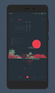 Sunday Evening for KLWP- screenshot thumbnail