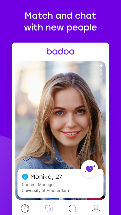 Meet New People on Badoo Make Friends Chat Flirt