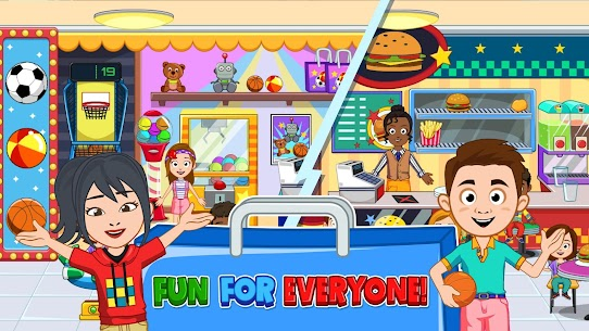 My Town : Shopping Mall MOD APK 1.00 [Characters Unlocked] 3