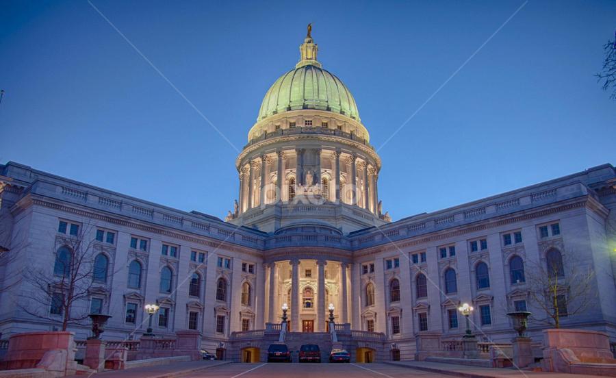 Capitol, pre-sunrise by Matt Brisher - Buildings & Architecture Public & Historical