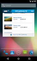 Screenshot of ANZ goMoney New Zealand