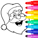Christmas Coloring Games - Coloring Pages for Kids icon
